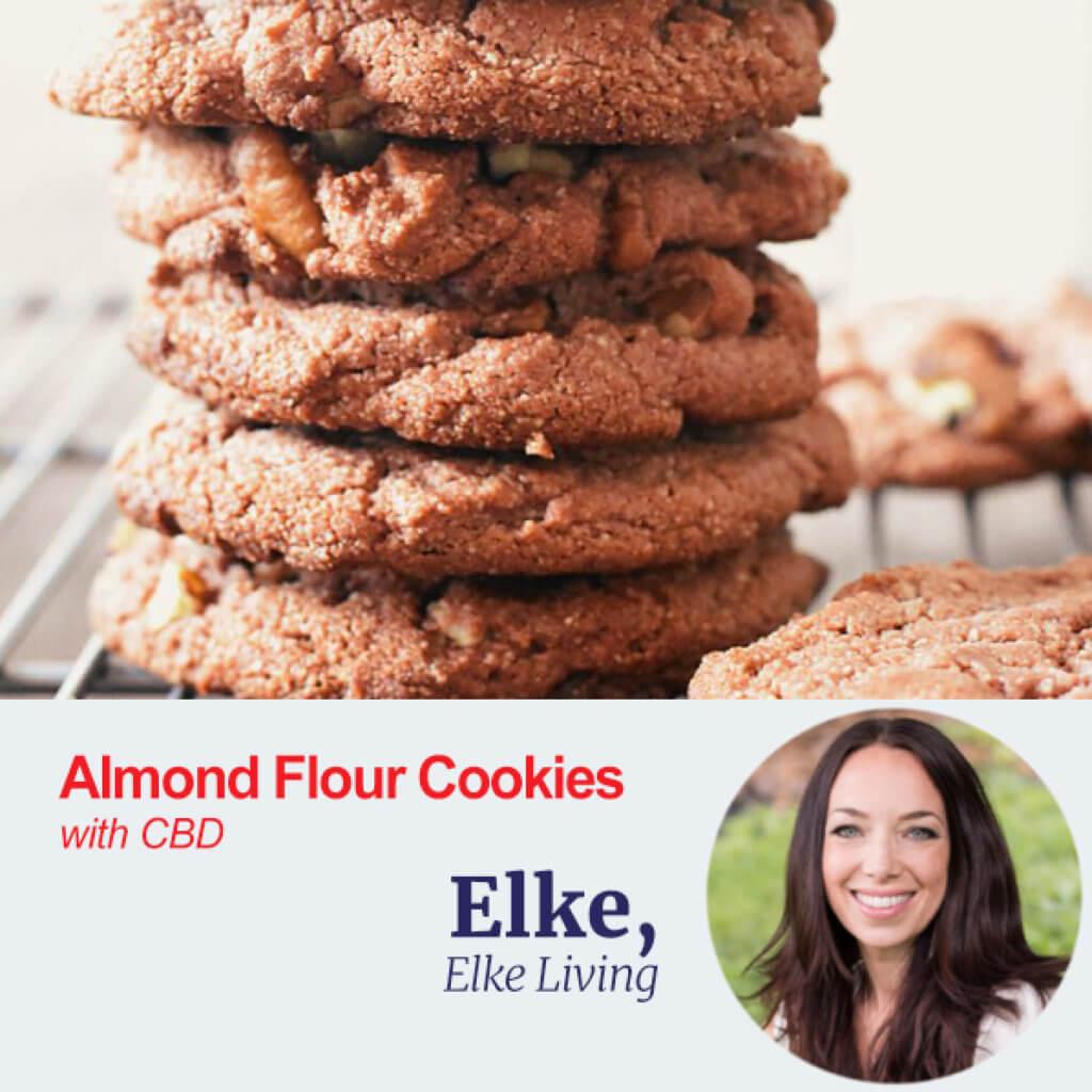 Almond Flour Cookies with CBD