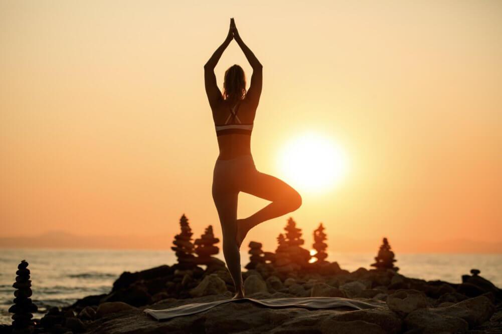 Yoga and CBD benefits