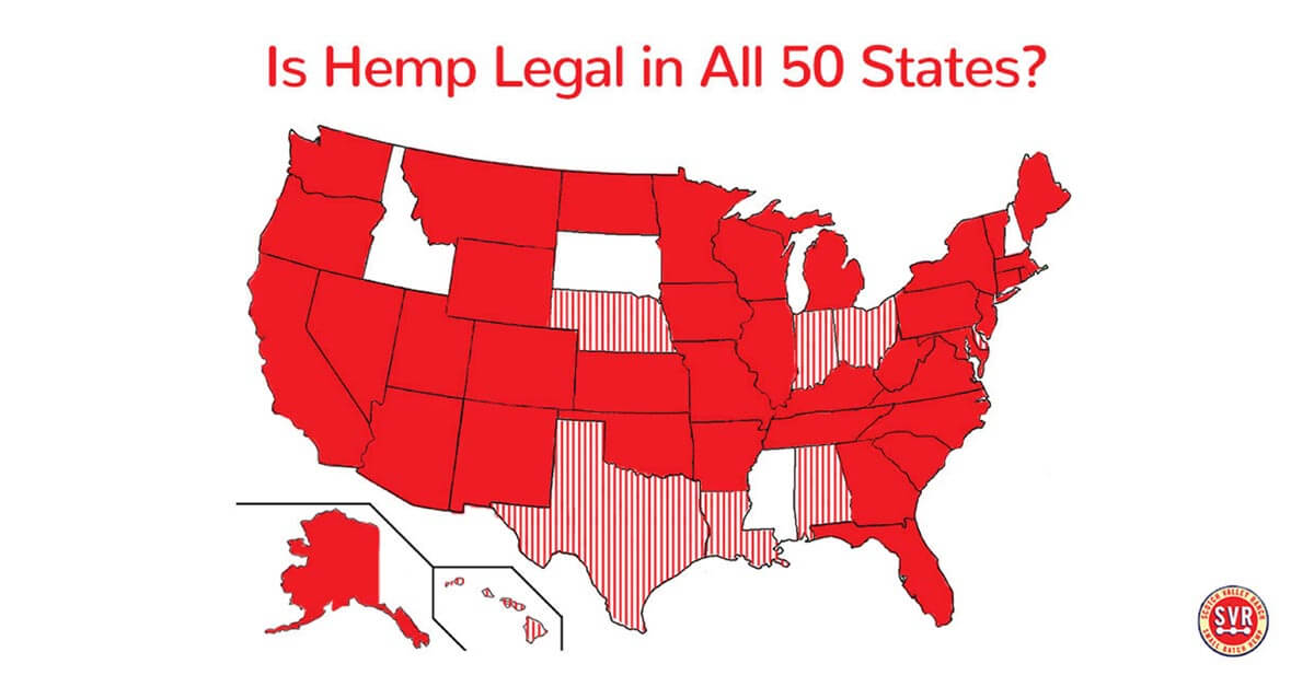 which states is hemp legal in?