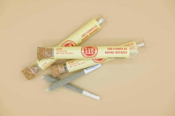 Lifter CBD hemp flower pre roll with joint