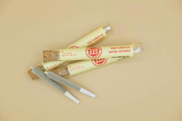 T2 hemp flower pre roll with joiint